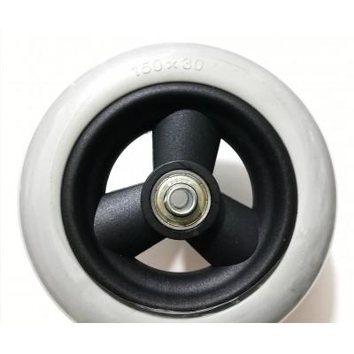 Колесо для инвалидной коляски 150/30 литое
