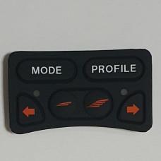 Накладка рез. на задние кнопки для пульта R-NET JSM с управл. фарами