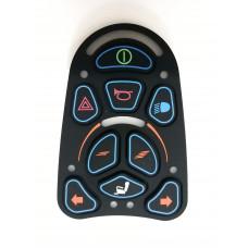 Накладка пульта инвалидной коляски VR2 (9 кнопок)