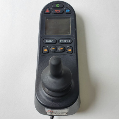 Джойстик для инвалидной коляски R-Net с управлением освещением и разъемами 3,5 мм б/у