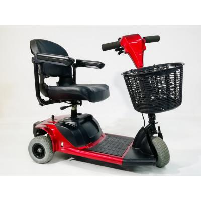 Электроскутер для инвалидов (красный)
