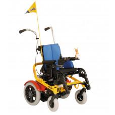 Детская инвалидная коляска с электроприводом Скиппи