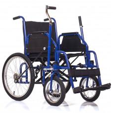 Инвалидная коляска c рычажным приводом