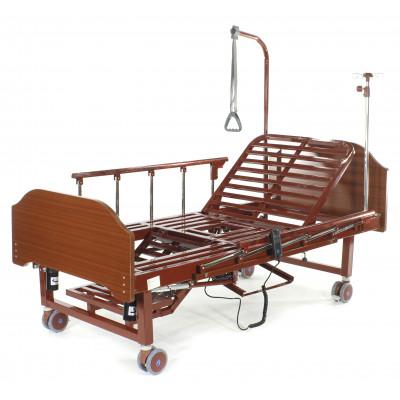 Кровать электрическая с туалетным устройством и функцией «кардиокресло» Med-Mos YG-2 (МЕ-2128Н-00)