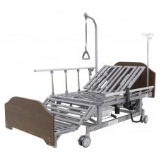 Кровать электрическая Мед-Мос DB-11А (МЕ-5228Н-00) ЛДСП Венге с боковым переворачиванием, туалетным устройством и функцией «кардиокресло»
