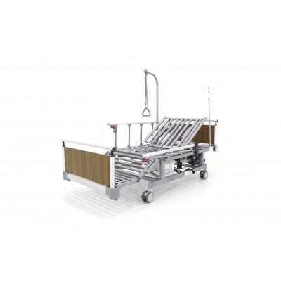 Кровать электрическая Мед-Мос DB-11А (МЕ-5248Н-00) с боковым переворачиванием, туалетным устройством и функцией «кардиокресло»
