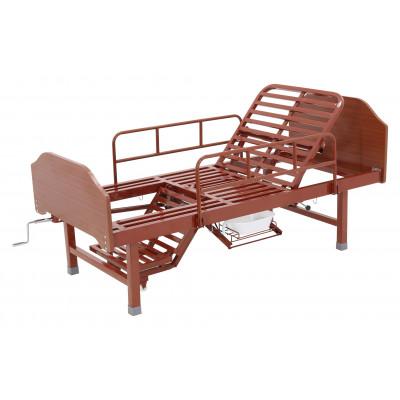 Кровать механическая Med-Mos Е-49 (MM-2120Н-10) с туалетным устройством и функцией «кардиокресло»