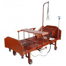 Кровать электрическая Med-Mos YG-3 (МЕ-5228Н-13) с боковым переворачиванием, туалетным устройством и функцией «кардиокресло»