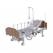 Кровать электрическая Med-Mos YG-3 (МЕ-5228Н-10) с боковым переворачиванием, туалетным устройством и функцией «кардиокресло» Гибридный привод возможность управлять секциями без электроэнергии!