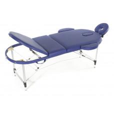 Массажный стол складной алюминиевый Med-Mos JFAL03 М/К (3-х секционный) (МСТ-3310ВЛ)
