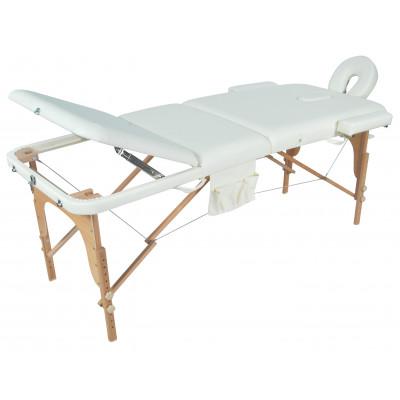 Массажный стол складной деревянный Med-Mos JF-AY01 3-х секционный