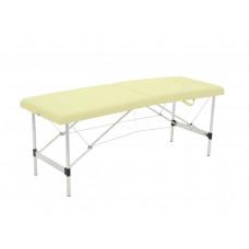 Массажный стол складной алюминиевый Med-Mos JFAL01-F (PA2.00.00A) 2-х секционный (с регулировкой высоты)