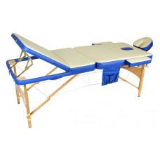 Массажный стол складной деревянный Med-Mos JF-AY01 3-х секционный М/К