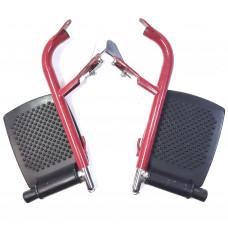 Подножка металлическая для инвалидной коляски